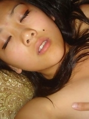 Nice gallery of steamy hot amateur Asian girlfriends